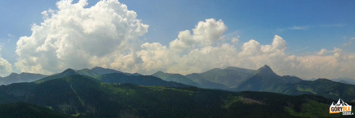 Panorama zKopieńca