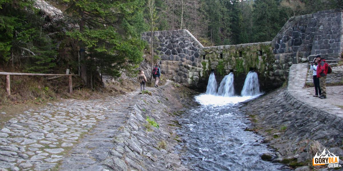 Tama Pod Nosalem na potoku Bystra