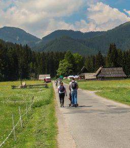 Łatwe trasy na wózek w Tatrach