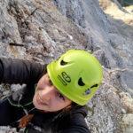 """Katarzyna """"Ruda"""" - autorka zdjęć, opisu i alpejskiej przygody"""