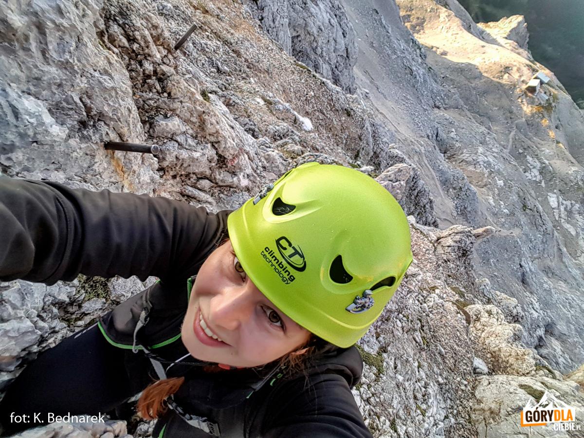 """Katarzyna """"Ruda"""" - autorka zdjeć, opisu i alpejskiej przygody"""