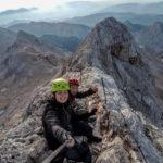 """Katarzyna """"Ruda"""" - autorka zdjeć, opisu i alpejskiej przygody na grani pod Triglavem"""