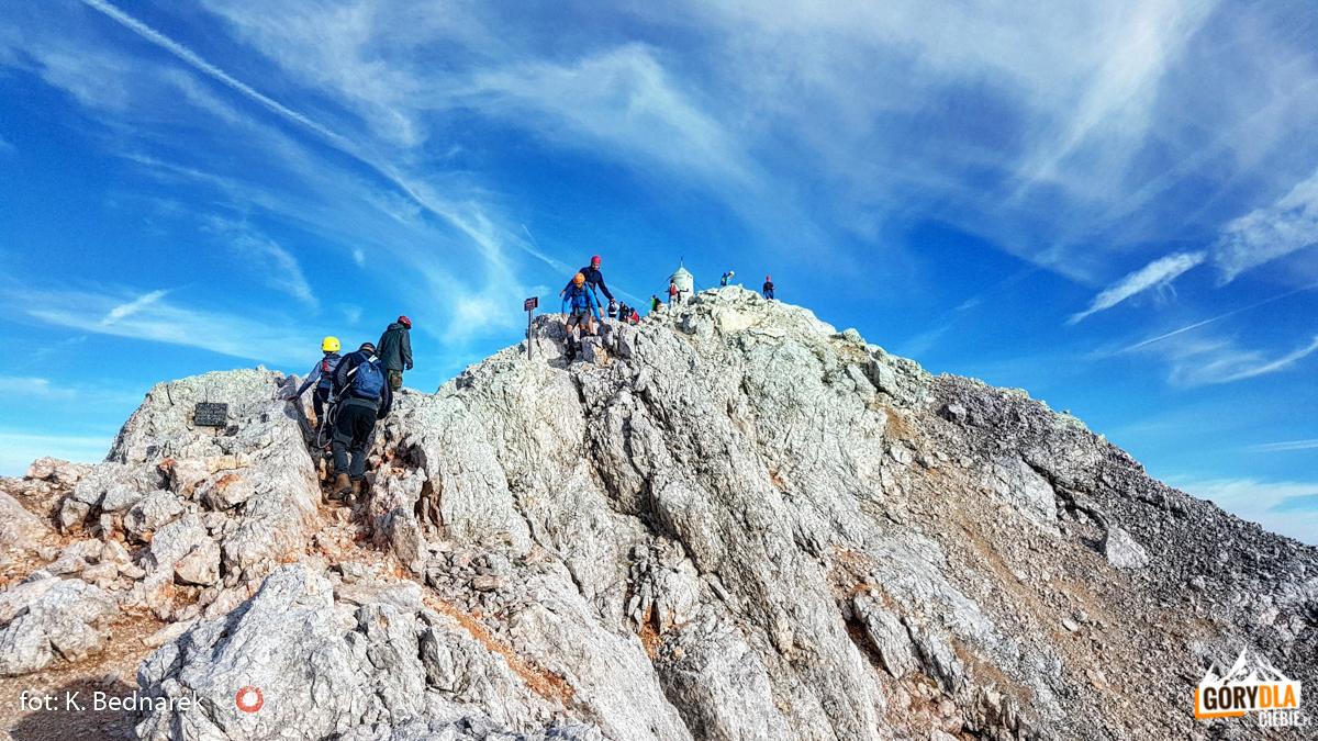Wejście naTriglav (2864 m)
