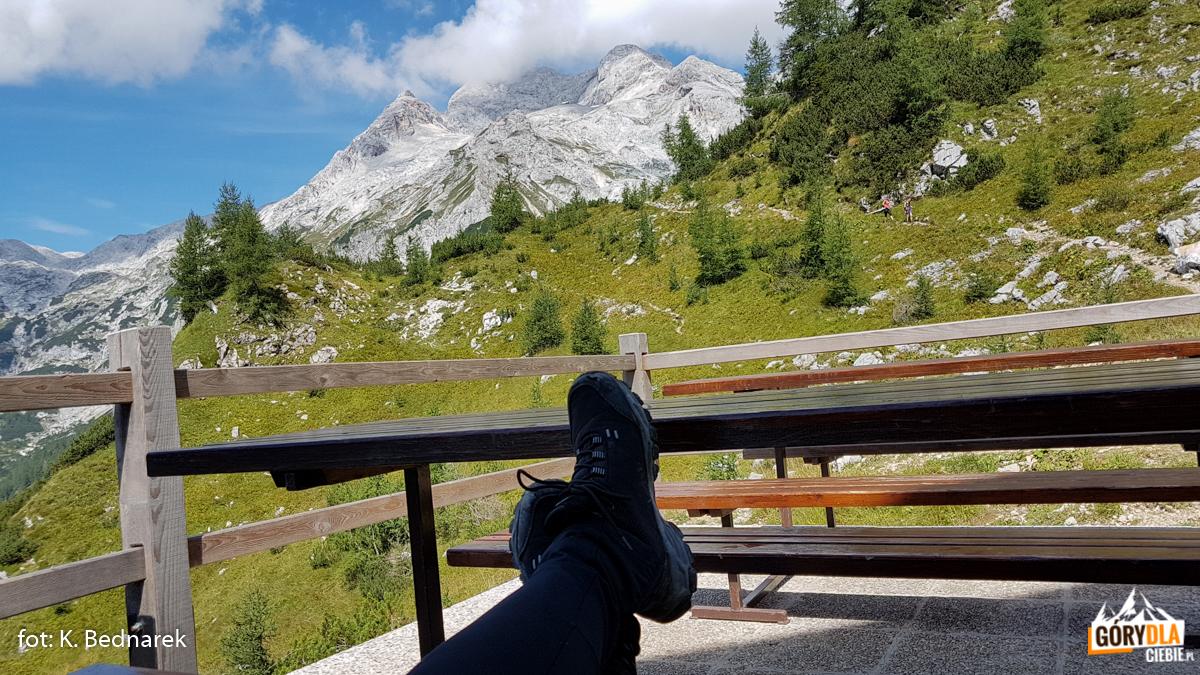 Triglav (2864 m) wchmurach