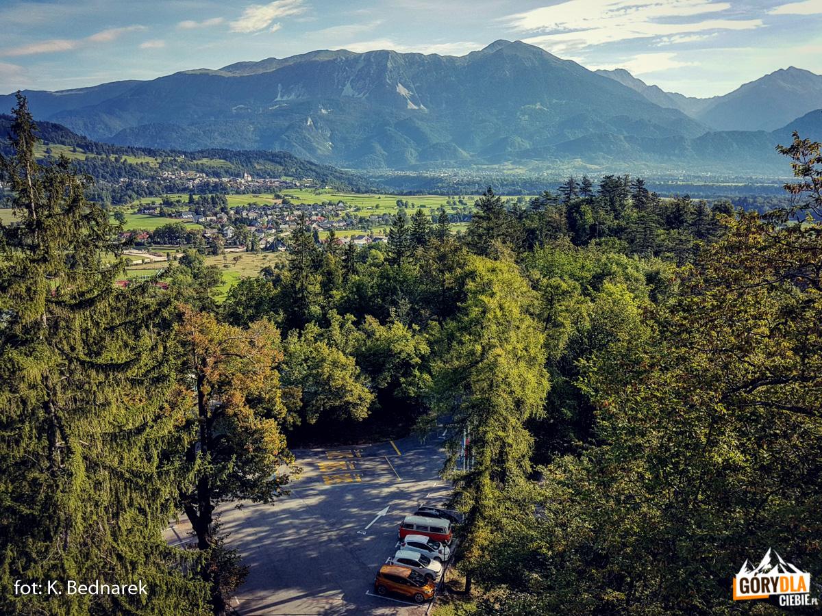 Widok naotoczenie Bledu