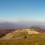 Panorama z grani Bukowego Berda