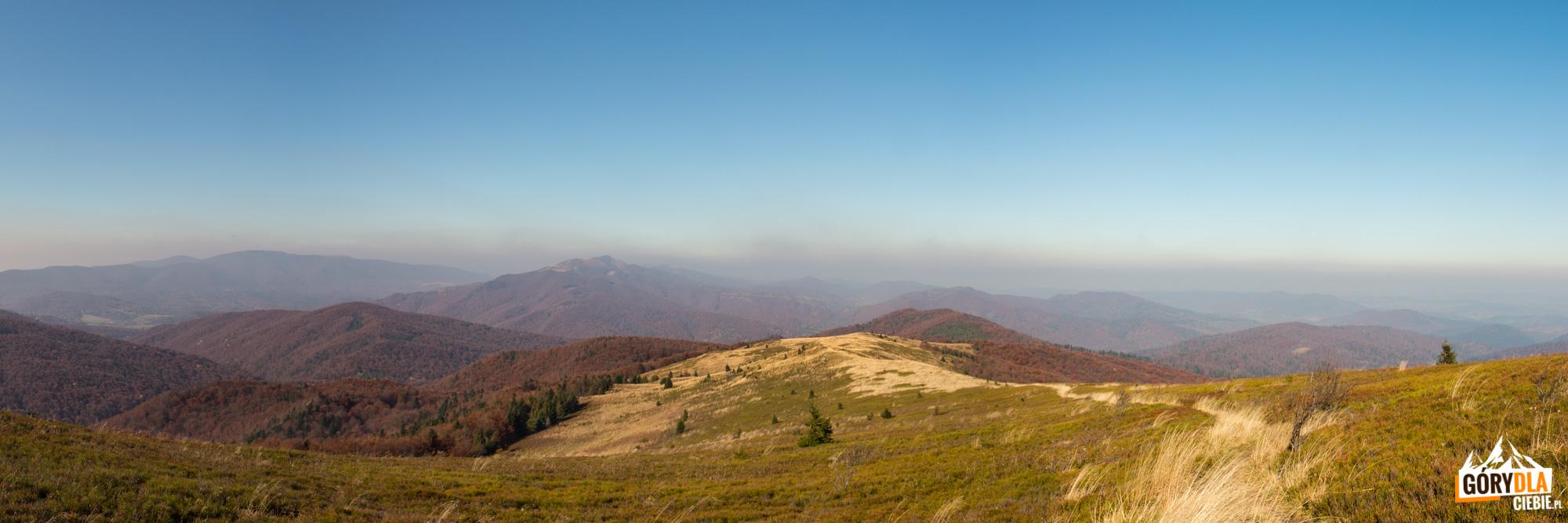 Panorama zgrani Bukowego Berda