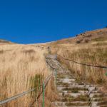 Schody z Krzemienia na Przełęcz Goprowską (1160 m)