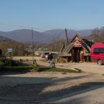 Ustrzyki Górne - parking i punkt wyjścia na Szeroki Wierch