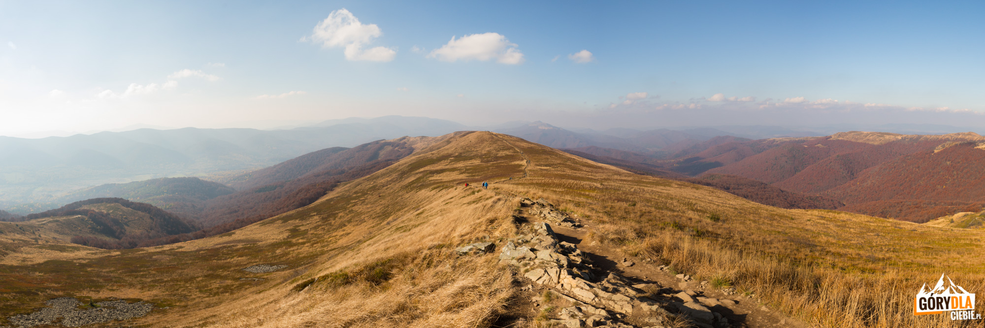 Panorama zgrani Szerokiego Wierchu