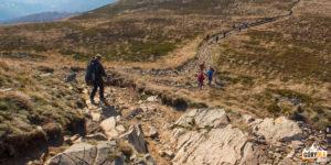 Przejście granią Szerokiego Wierchu