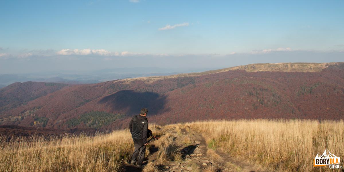 Zejście z grani Szerokiego Wierchu