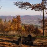 Ławeczka pod szczytem - idealny punkt widokowy
