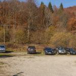 Nasiczne - parking (przy czerwonym szlaku na Dwernik Kamień)