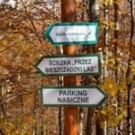 """Znaki ścieżki dydaktycznej """"Przez bieszczadzki las"""""""