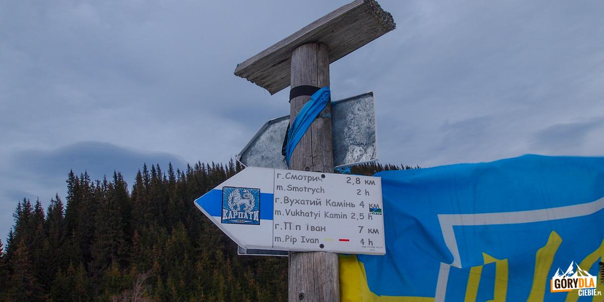 Szlaki na Smotrycz