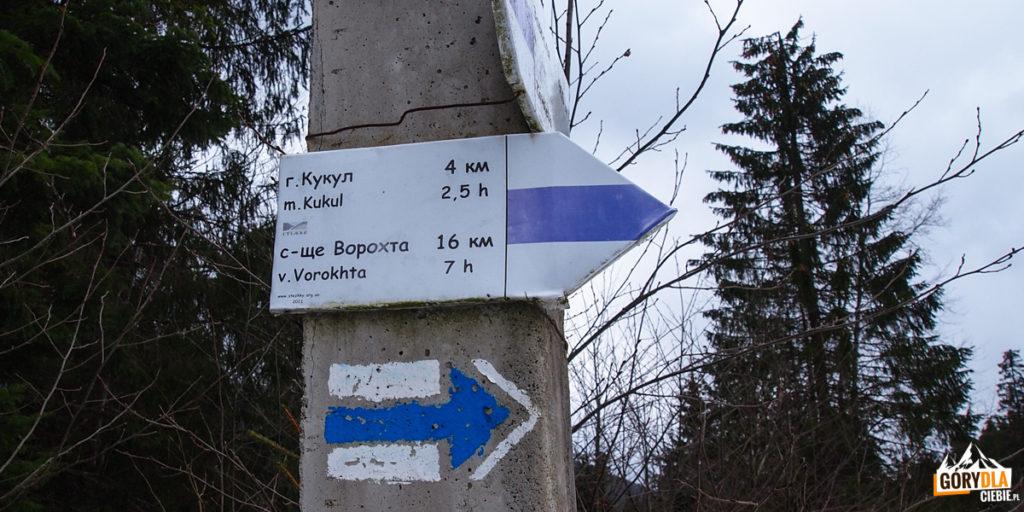 Czarnohora - szlaki na Kukuł