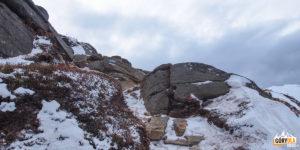 Zimowa wycieczka na Smotrycz