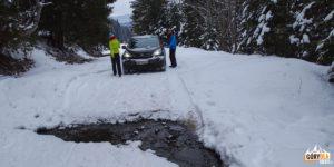 Przeszkody na drodze dojazdowej