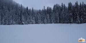 Jezioro Mariczejka w zimowej szacie