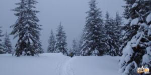 Zima w Czarnohorze