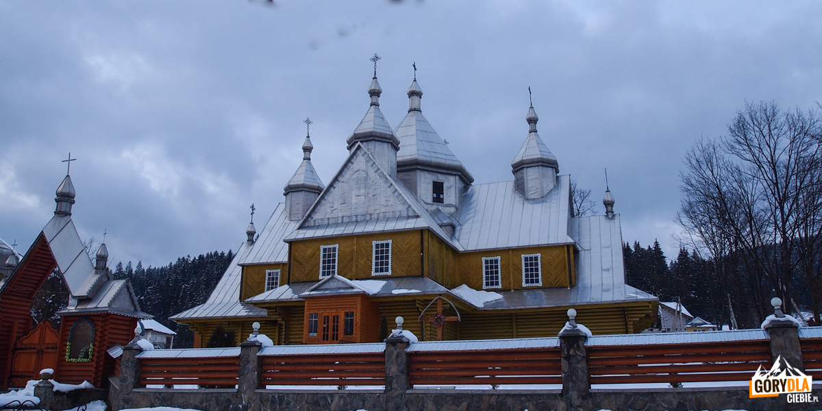 Werchowyna - Cerkiew prawosławna Zaśnięcia Matki Bożej
