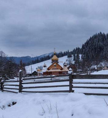 Czarnohora zimą