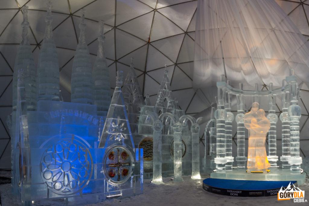 Tatrzańska Świątynia Lodowa naHrebienku