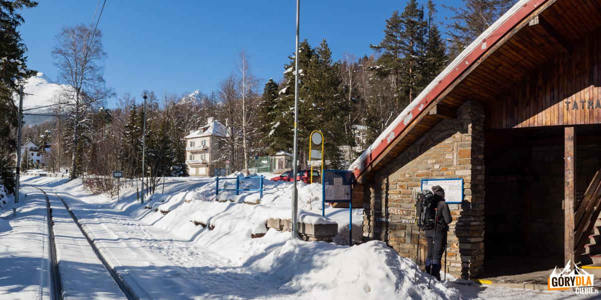 Tatrzańska Leśna - stacja kolejki elektrycznej