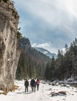 Dolina Kościeliska zima - start