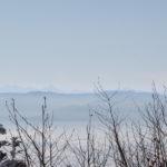 Panorama z podejścia na Lubogoszcz - widać nawet Tatry