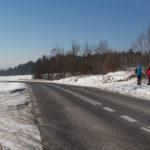Polana Mogiła - początek startu naszej wycieczki na Lubogoszcz