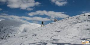 Niżne Tatry są wspaniałym terenem dla skiturowców