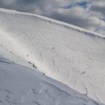 Zjazdy skiturowców z grani