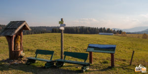 Bieszczadzka panorama z Lutowisk