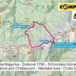 Ďurková, Tatry Niżne - mapa trasy