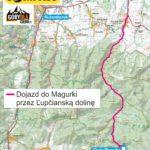 Magurka - Tatry Niżne - mapa dojazdu