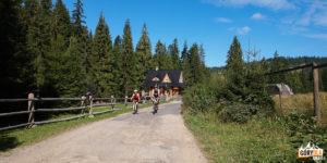 Trasa rowerowa z Obidowej na Turbacz