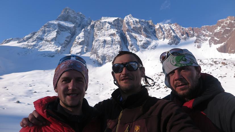 Paweł Migas, Adam Bielecki, Jacek Czech - fot. z arch. Jacek Czech