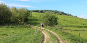 Podejście na Adamczykową (611 m), zdj. Tomek Kubik