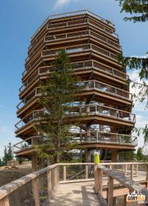 Wieża widokowa ma 32 m wysokości
