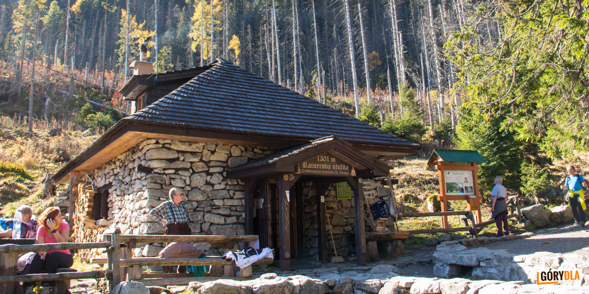 Schronisko Rainerowa chata (Rainerova chata, Rainerka, 1301 m) jest najstarszym zachowanym schroniskiem tatrzańskim. Obecnie znajduje się tutaj muzeum nosiczów (tragarzy tatrzańskich)