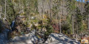 Przy Wodospadach Zimnej Wody (Skrytý vodopád)