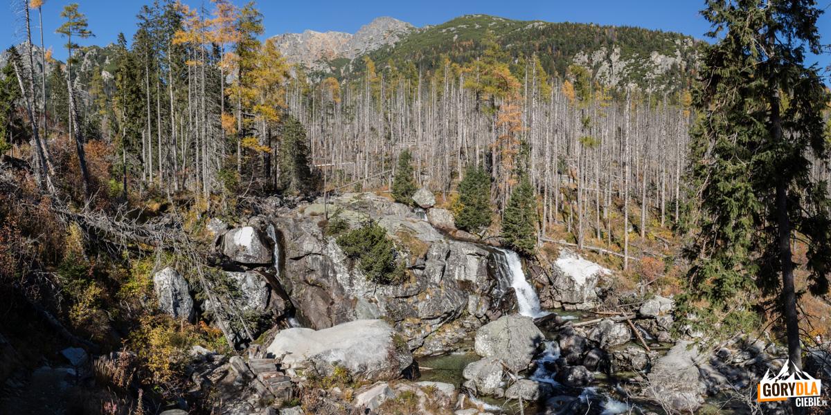 Otoczenie Wielkiego Wodospadu (Veľký vodopád)