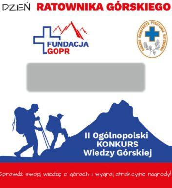 Konkurs Wiedzy Górskiej 2018