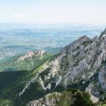 Giewont od strony Doliny Małej Łąki, w dole Zakopane