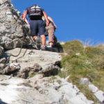 Wejście na szczyt Giewontu