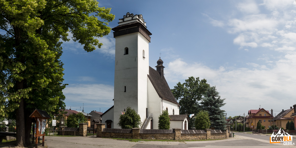 Krempachy - kościół św. Marcina z I poł. XVI w.