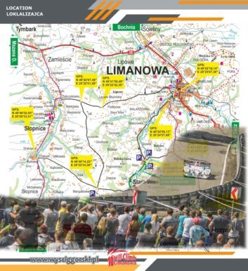 10. jubileuszowa edycja Mistrzostw Europy w Wyścigach Górskich Limanowa-Przełęcz pod Ostrą