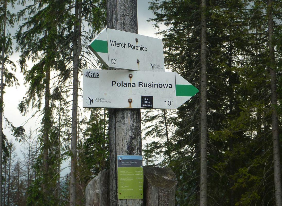 W drodze na Rusinową Polanę, zdj. Waldemar Rusek